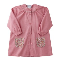 Chloé Chambray Framboise Poches Liberty New Pink